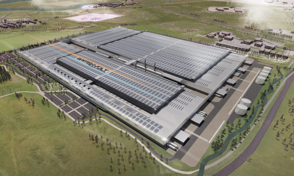 Britishvolt selects Blyth, Northumberland as the site of its first battery gigaplant